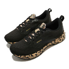 Brooks Revel 4 Cheetah Limited Energize Black Women Running Shoes 120337 1B 012
