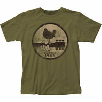 Woodstock 1969 Official Adult Men or Women Military Green T Shirt