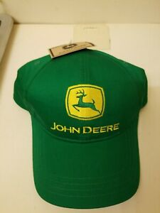 John Deere mens Farm Cap Adjustable Snapback Hat