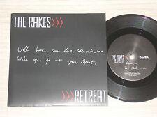 "THE RAKES - RETREAT / DARK CLOUDS - 45 GIRI 7"" UK"