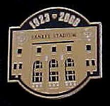 New York Yankees Yankee Stadium Final Season Patch Pin
