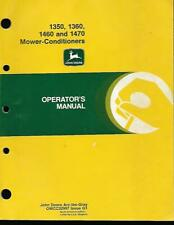 New Listingjohn Deere 135013601460 And 1470 Mower Conditioners Operators Manual