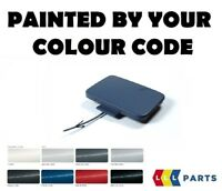 AUDI A4 B6 2001-2004 NEW FRONT TOW HOOK EYE CAP PAINTED BY YOUR COLOUR CODE