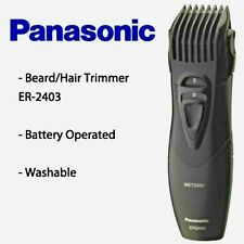Panasonic ER 2403 K Body Hair & Beard Trimmer<Made in JAPAN>Wet/Dry100%Washable