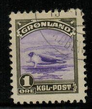 Greenland #10 1945 Used