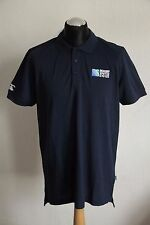 CANTERBURY RUGBY WORLD CUP 2015 POLO SHIRT NAVY SS UK XL BNWT