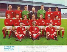 FL review team photo Nottingham Forest 68/69