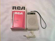 1976 INDY 500 RCA RZG101J TRANSISTOR RADIO KUBC RADIO PROMOTION DELTA MOTOR PART