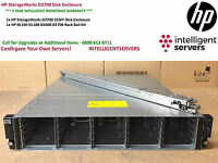 "HP Storageworks D2700 Disk Array 25x 2.5"" Drive Bays ** AJ941A ** With Rail Kit"