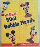 "Kellogg's Cereal 2003 Walt Disney World 2.75"" Bobblehead Premium Toys"