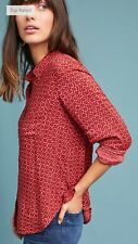 NWT in Bag Anthropologie Holding Horses blouse size 14-Fast Shipping