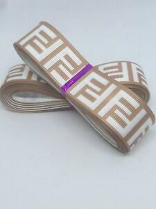 ". Designer Grosgrain Ribbon. 1"" / 25mm Wide. 5 Yards Hair Bow Ribbon. Craft"