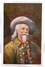 1940s POSTCARD LAST PORTRAIT OF WM F CODY,BUFFALO BILL