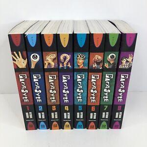Parasyte English Manga Omnibus Volume 1-8, 1 2 3 4 5 6 7 8