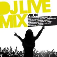 Various - DJ Live Mix Vol.1 (OVP)
