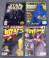 Star Wars 20th Anniversary Cinescape Insider ToyFare & Wizard Magazine Lot 98/99