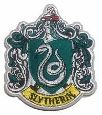 """Harry Potter Slytherin groß 4"""" hoch bestickt Aufbügelflicken"""