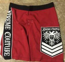 Mens Xtreme Couture Mma Shorts Size 33 Grapple Wrestling Jiujitsu Men's