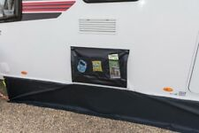 Kampa Single Wheel Arch Cover - Black with limpet Attachment System (2 Limpets)