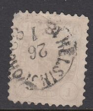FINLAND :1877 1m pale mauve  SG80 used