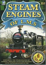 STEAM ENGINES OF L.M.S. - (LONDON, MIDLANDS & SCOTTISH)