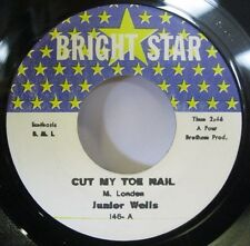 Junior Wells-Cut My Toe Nail/Im Losing You-Rare R&B/Soul 45-Bright Star-VG++HEAR