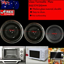 3 Types Dia 245/270/315mm Microwave Oven Turntable Glass Tray Glass Plate L