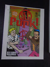 +/ sic PUNK COMIC BOOK+FILM SYSNOPSIS MEDIA INFO SONY PICTURES vintage scarce2PC