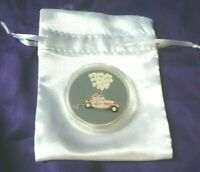 Just Married, Wedding 1 oz .999 Silver Colorized Round Coin in Gift Bag-APMEX