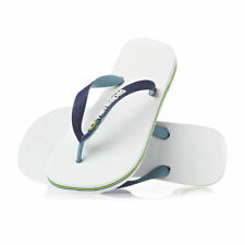 Havaianas Brazil LOGO Navy White Flip Flops BOTH Thongs Sandals mens womens