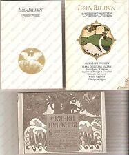1990 Ivan BILIBIN Fiaba dello Zar Saltan *13 Cartoline illustrate e libretto