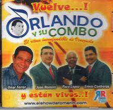 Orlando y Su Combo Vuelve y Estan Vivos  BRAND NEW SEALED     CD