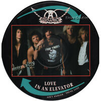 """EX! AEROSMITH LOVE IN AN ELEVATOR 12"""" VINYL PICTURE PIC DISC"""