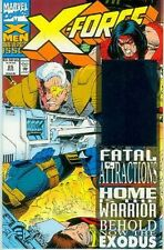 X-Force # 25 (52 pages, golden hologram) (USA, 1993)