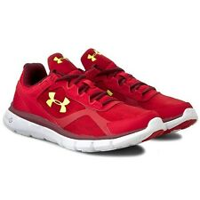 UNDER ARMOUR MICRO G VELOCITY RUNNING SHOE 1258789 600 MEN Size 8 NEW