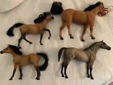 Vintage Large Bryer Type Horses Smooth And Velvet