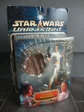 Hasbro Star Wars Unleashed Padme Amidala action figure with original packaging