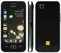 Orange Sydney - Black (Unlocked) Basic Smartphone