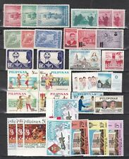 PHILIPPINES  ^^^^^^#500//1187 LARGE  MNH/MH  collection  $$@ lar 3139phi9