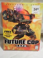 Future Cop L.A.P.D. LAPD (PC & Apple Macintosh) Nearly Complete Big Box Rare HTF