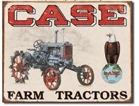 Case Farm Tractor Metal tin sign CC high clearance home garage Wall decor new