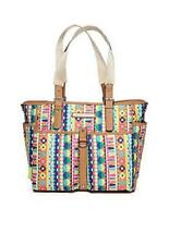 Lily Bloom Multi-color Computer Eco Tote Bag & Laptop Sleeve Case  NWTs