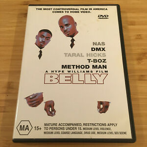 Belly (1998) A Hype Williams Film | Australian PAL Region 4 DVD | Free Postage