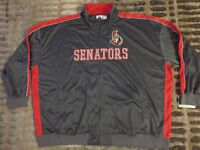 Ottawa Senators NHL Hockey Jacket 6XL 6X NEW mens