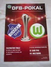 Orig.PRG  DFB Pokal Frauen  2015/16  FINALE   VfL WOLFSBURG - SC SAND 1946 ! TOP