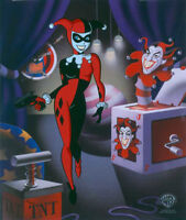 Classic Harley Batman Animated Series Warners Limited Ed Animation cel of 500