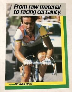 Vintage REYNOLDS Bicycle Cycling Racing Dealer Color Brochure England