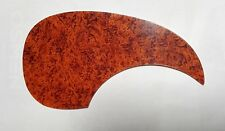 Lefthanded Pickguard Genuine Celluloid Red Shell 4 Martin Style Acoustic Guitar