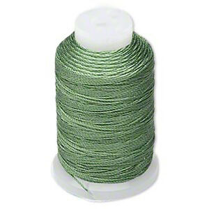Silk Beading Thread Size FF 0.015 Inch 0.38mm Spool 115 Yards Choice of Color