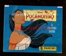 Pocahontas Disney Panini Packet Pack Stickers Sealed